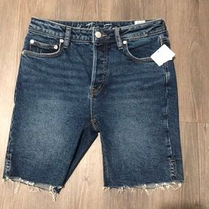 Free People Jean Shorts NEW